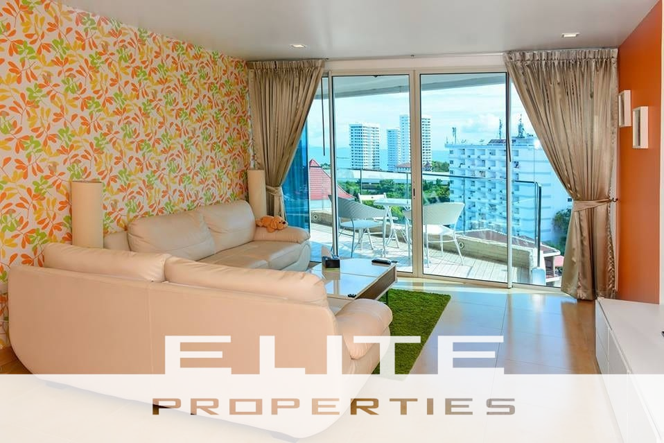 The Cliff Residence - Two Bedroom Condo for Sale - Pratumnak