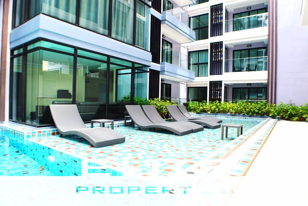 Siam Oriental Tropical Garden - One Bedroom Condo For Sale - Pratumnak